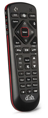 Dish Network 54.0 Voice remote control with illuminating buttons and batteries
