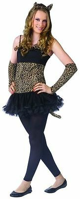 Cat Costume Teen (Wild Cat Teen Halloween Costume. Juniors Size 0 to 9. NEW in Original)