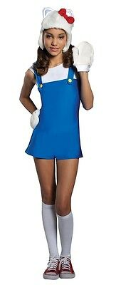 Hello Kitty Blue Romper Teen Costume Very Cute Girls HK Outfit