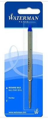 Waterman Ballpoint Blue Fine Pt Ballpoint Refill Refill New In -
