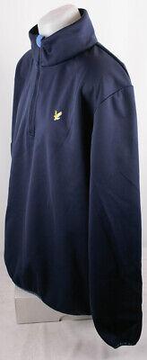 Lyle and Scott Herren Calder Pullover Zipper 1/4 Zip Wind Top  Sweatshirt XXL 1/4 Zip Windshirt