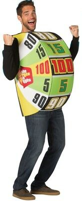 The Price Is Right Game Show Big Wheel Costume Halloween Rasta Imposta ()
