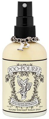 Poo-Pourri Original Citrus 4 oz Bottle Bathroom Toilet Before-You-Go Odor Spray