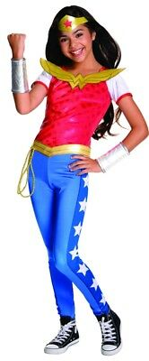 DC Super Heroes Deluxe Wonder Woman Child Costume, 620716, - Kids Wonder Woman Costumes