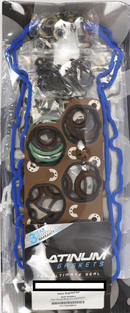 VRS HEAD GASKET SET+CYLINDER HEAD BOLT for HOLDEN RODEO RA 2DOOR 05-08 3.6L LCA