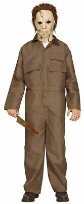 Teenager Halloween Kostüm Michael Myers inkl. Maske m. - Michael Myers Haar