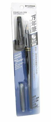 Platinum Carbon Desk Fountain Pen, Super Fine (DP-800S#1) Japan Import