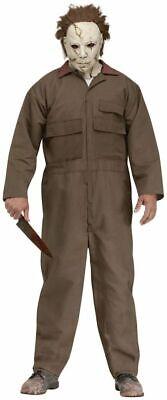 Herrenkostüm Michael Myers inkl. Maske mit Haaren Horror-Film - Michael Myers Haar
