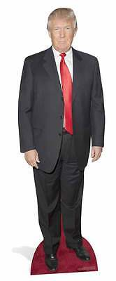 Donald Trump  Cardboard cutout life size stand up:red tie  2016 for President SC