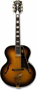 D'Angelico EX-Style B Guitare Électrique Arched top, hollow-body