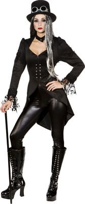 Orl - Damen Kostüm Frack Steampunk Gothic Karneval Fasching