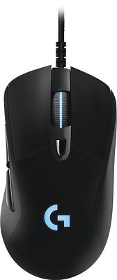 Logitech   G403 Prodigy Usb Wired Optical Gaming Mouse   Black