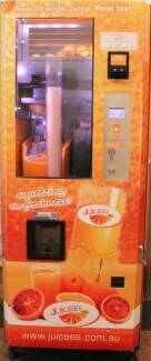 Freshly Squeezed Orange Juice Vending Business Sydney City Inner Sydney Preview