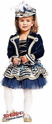 Italienische Herstellung 4 Teile Mädchen Deluxe Matrose Tutu Kostüm Kleid (Italienische Kostüme)