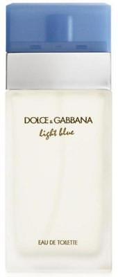 D & G Light Blue Dolce Gabbana Perfume 3.3 / 3.4 oz edt NEW tester WITH CAP