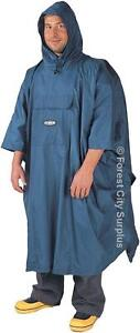 QUALITY NORTH49 RAIN PONCHOS - KEEP YOURSELF AND YOUR BACKPACK DRY IN A RAIN STORM!!