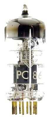 GEPRÜFT: PC86 goldpin Radioröhre, Hersteller Telefunken. ID16813