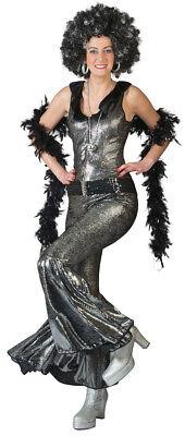 Disco Doll Party Anzug Damen Overall Hippie 70er Disco Mottoparty Karneval - Abba Overall Kostüm