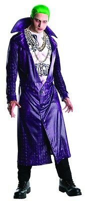 Suicide Squad The Joker Adult Mens Costume, Purple, Rubies - The Joker Adult Costume