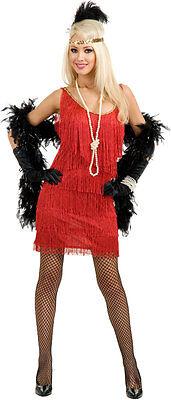 LETE Charades Fashion 0768 Red  Boa, Pearls, Headband 1920's (Fashion Flapper Kostüm)