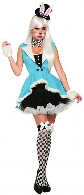 Weißes Kaninchen Benny Bunny Alice im Wunderland Damen - Alice Kaninchen Kostüm