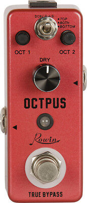 Rowin guitar effects pedal, OCTPUS. Reverb