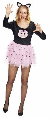 Katze Pussycat Kostüm für Damen Animé Manga Cosplay - Katze Kostüme Für Schwarze Katzen