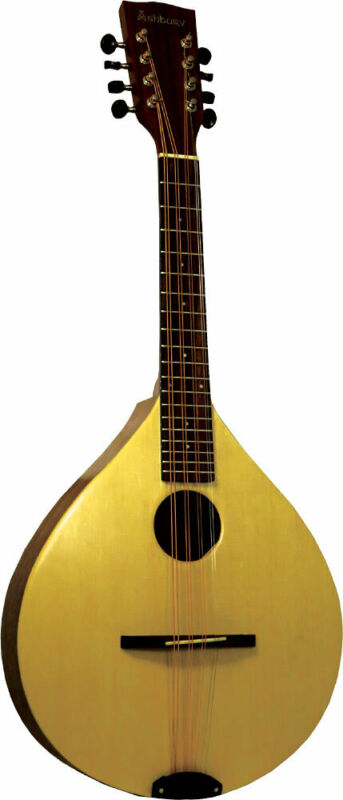 Ashbury Style A TENOR MANDOLA. Solid spruce top, walnut body. From Hobgoblin