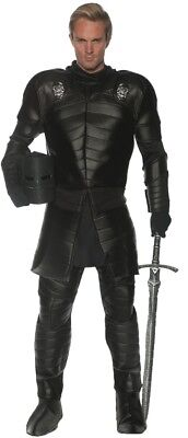 Schädel Warrior Erwachsene Herren Kostüm Tunika mit Schulter Guards (Guard Herren Kostüm)