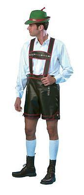 DEUTSCHES BIER MANN STAG KOSTÜM, GROß, OKTOBERFEST - Oktoberfest Kostüm Mann