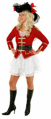 Piraten Kostüm Damen Piratenjacke Piratenmantel Rock Piratin Damenkostüm - Pirat Mantel Damen
