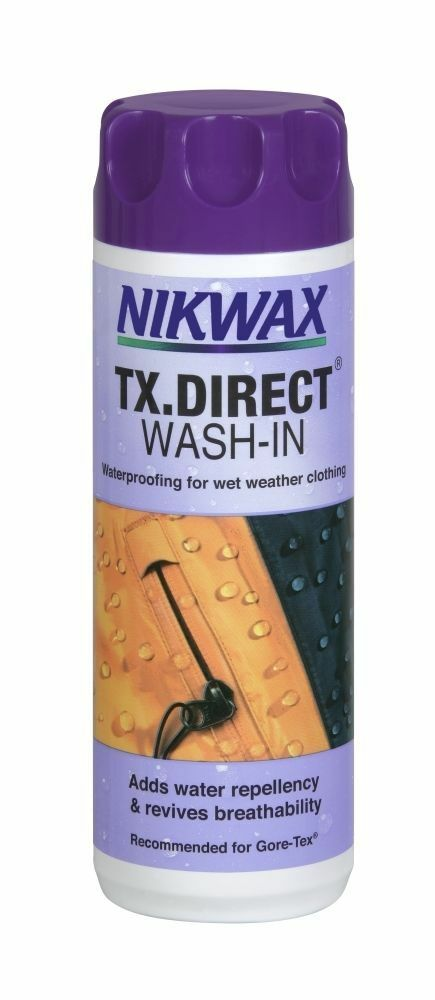 NIKWAX TX.Direct Wash-In Waterproof wet weather for Outdoor clothing Re-Proofer