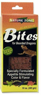 Nature Zone SNZ54621 Bearded Dragon Bites Soft Moist Food, 9-Ounce FREE SHIPPING