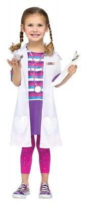 Dolly Doctor Arzt Kostüm Mädchen Tierärztin Ärztin Doktor Kinderkostüm Kinder ()
