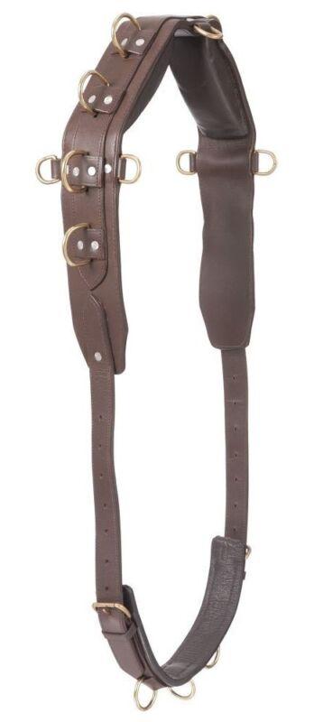 Professional Heavy Leather Horse Training Surcingle