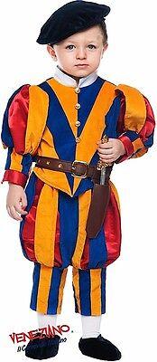 Italienische Herstellung Baby + Ältere Jungen Schweizer Schutz Karneval - Karneval Kostüm Hersteller