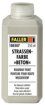Faller 180507 3196€/ 1L la Chaussée en Béton 250Ml Neuf