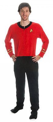 Suit Onesie Mens (Star Trek Mens Red Union Suit)