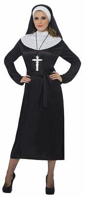 Nun Costume, Saints and Sinners Fancy Dress, UK Size 20-22 - Saint Sinner Kostüm