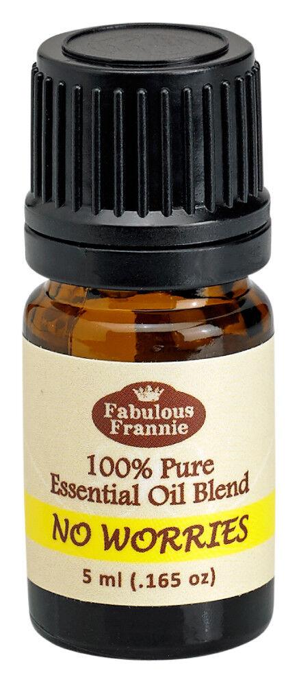 no worries 5ml pure essential oil blend