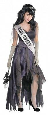 Homecoming Corpse Zombie Ballkönigin Prom Queen Damen Kostüm Abschlussball