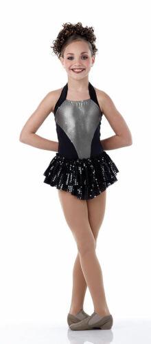 Child Extra Small Gunmetal Silver Tux Dance Jazz Costume