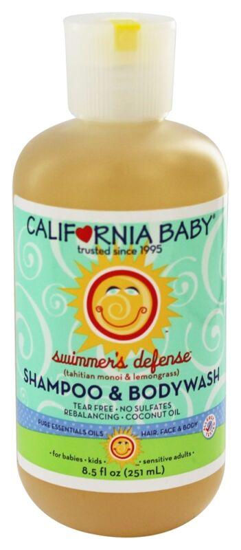 California Baby Shampoo & Body Wash Swimmer