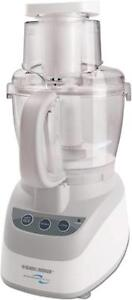 QUALITY BLACK AND DECKER WIDE MOUTH FOOD PROCESSOR -- AMAZING SURPLUS PRICES !!