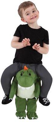 T-Rex Toddler Piggyback Kids Costume Realistic Look Halloween Morph Suits - Kid Morph Suits