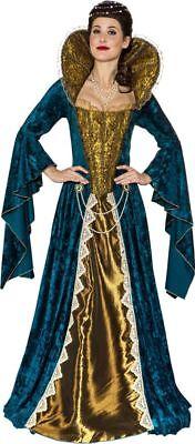 Orl - Damen Kostüm Renaissance Barock Kleid Karneval Fasching