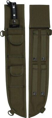 Olive Drab Tactical MOLLE Machete Sheath Case Cover 18""