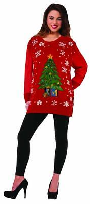 Halloween Costume Tree Man (Christmas Sweater Classic Tree Fancy Dress Up Halloween Adult Costume)