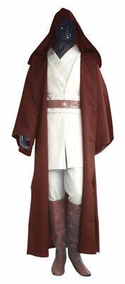 Deluxe Star Wars HERREN KOSTÜM Obi-Wan Kenobi Komplettset Jedi - Deluxe Jedi Kostüm