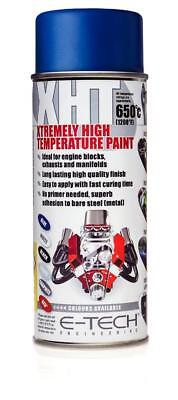 BLUE Extremely High Temperature Paint Engine 1200F 650C Motorbike (VHT/A)